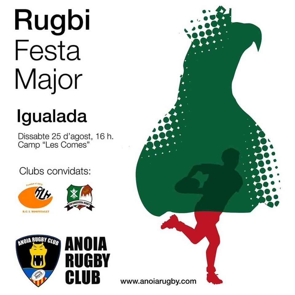 primer partit de pretemporada Anoia Rugby vs RCLH
