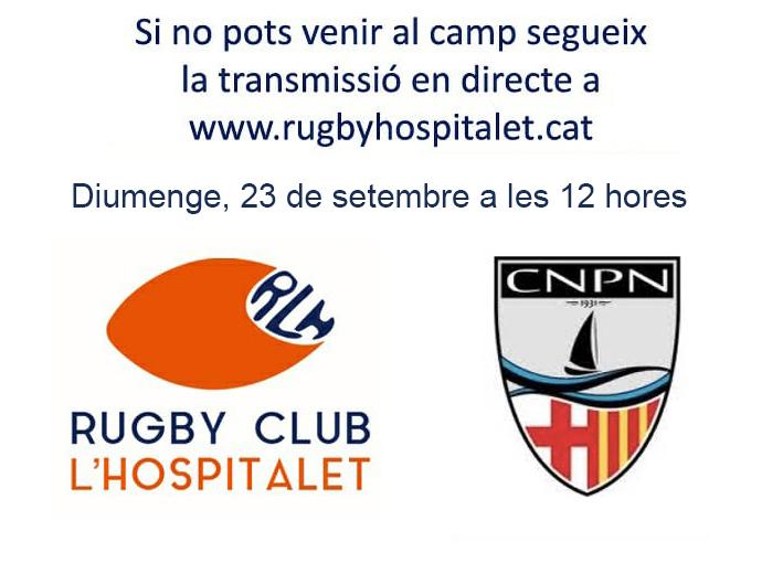 Segueix en directe el RC L'Hospitalet vs CN Poblenou